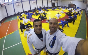 Mauro Chueng and Roberto Atalla teaching in Poland