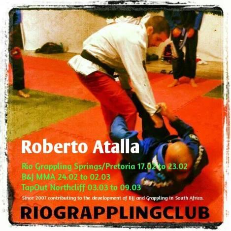 Roberto Atalla returns to South Africa