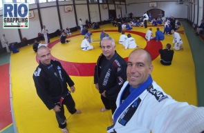 Roman and Wojtek, 2 of our local black belts helping with the classes