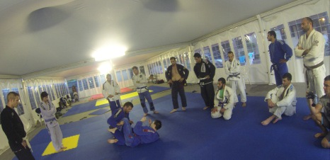 Davor teaching guard pass