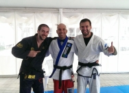 Gianluca, Roberto and Davor.